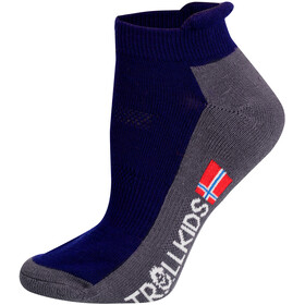 TROLLKIDS Hiking II Low Cut Socks Kids navy